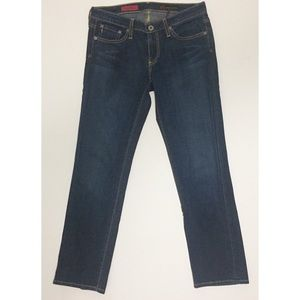 AG Adriano Goldschmied The Sweetie Cropped Jeans